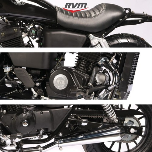 jawa rvm cafe racer 350cc   motozuni en caba