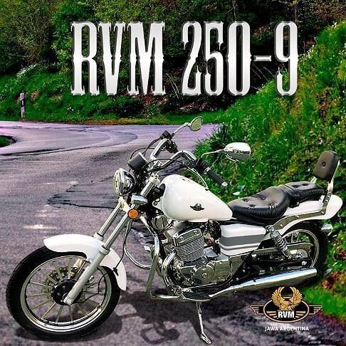 jawa rvm custom 250cc - motozuni  caba