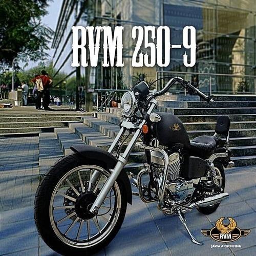 jawa rvm custom 250cc - motozuni ciudad evita