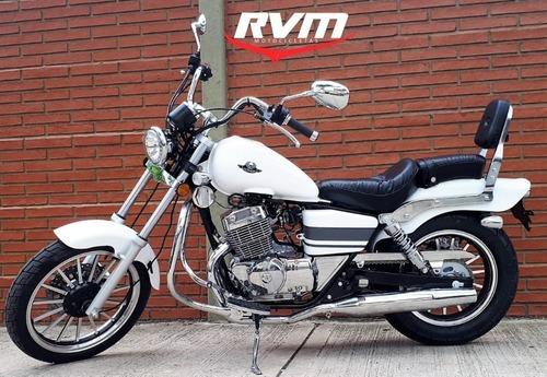 jawa rvm custom 250cc - motozuni  f. varela
