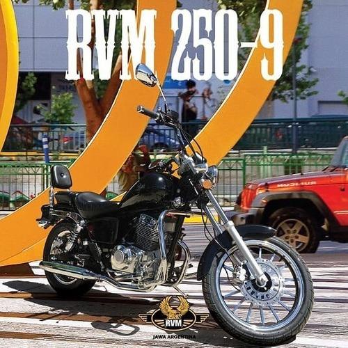 jawa rvm custom 250cc - motozuni  san justo