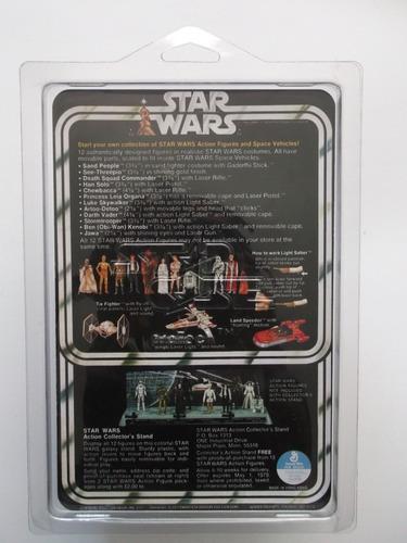 Jawa Star Wars Vintage 1977 Kenner 12 Back Repro Card
