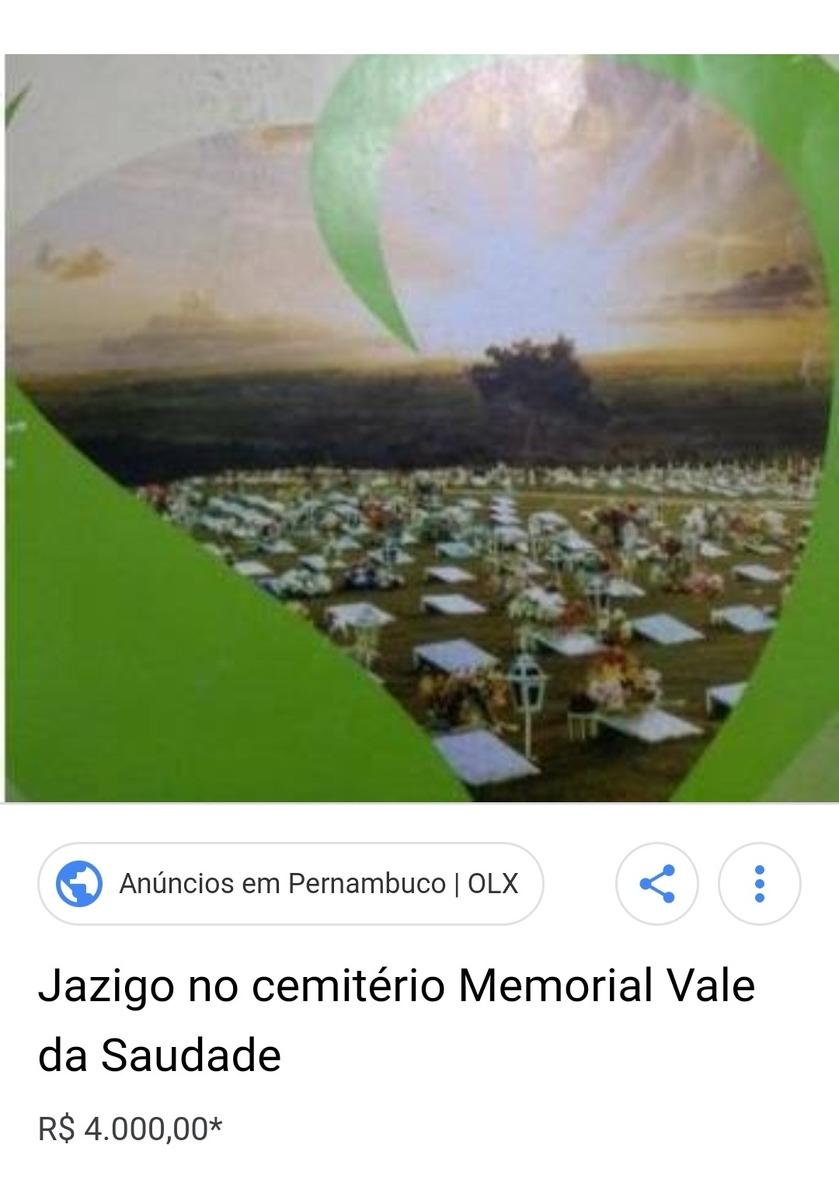 jazigo no memorial vale da saidade quitado