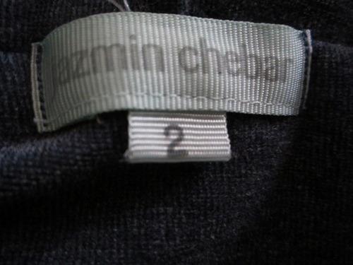 jazmin chebar chaleco c capucha espectacular t2