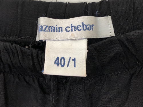 jazmin chebar short negro talle 40/1