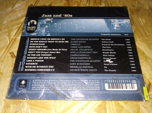 jazz and 80s cd u2 cure clash madonna (central vinilo)