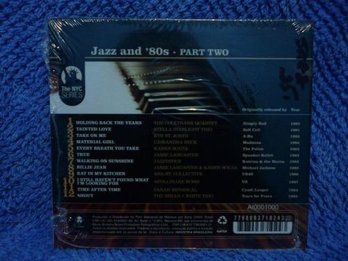 jazz and ´80s - jazz and ´80s - cd nacional
