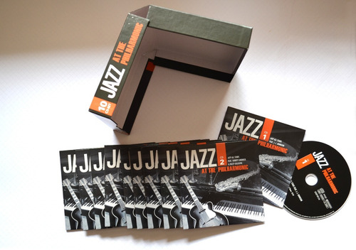jazz at the philharmonic - norman granz - colección 10 cds