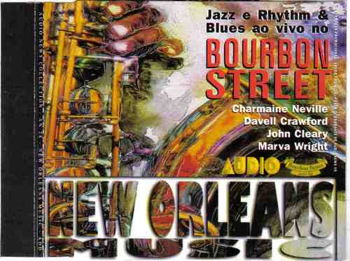 jazz e rhythm & blues  no bourbon street
