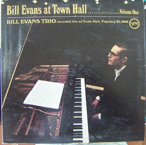 jazz inter, bill evans, at town hall, lp 12´, hecho en u s a