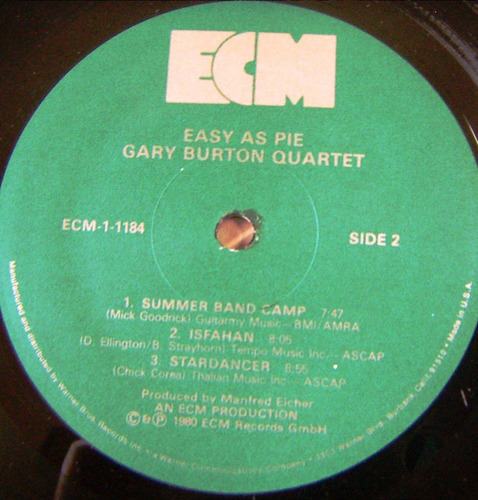 jazz inter. gary burton quartet.lp12´,  made in usa