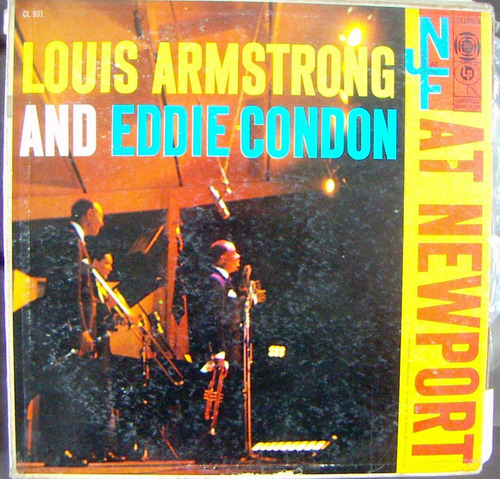 jazz inter. louis armstrong. y and eddie,lp12´, hecho en usa