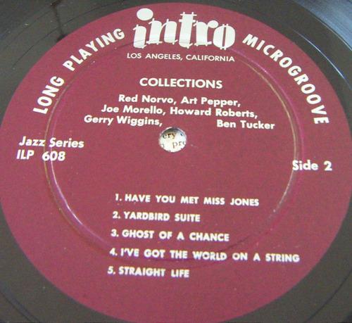 jazz inter, red norvo, collections, lp 12´, hecho en u s a
