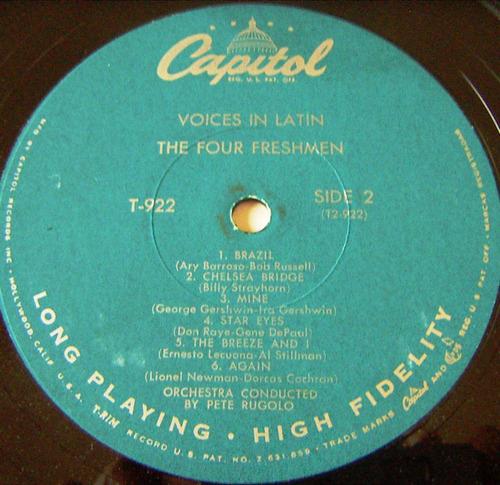 jazz inter, the four freshmen, lp 12´, hecho en u s a