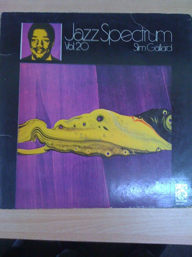 jazz spectrum. vol. 20. slim gaillard. lp
