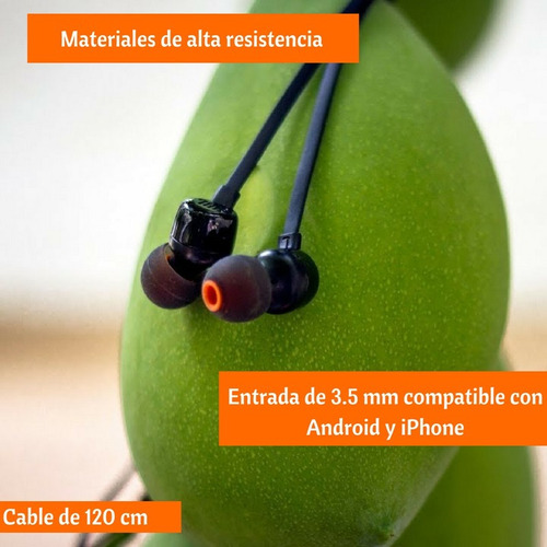 jbl audífonos t110, manos libres, negro
