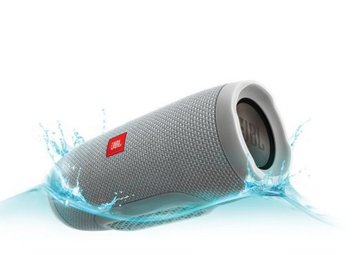 jbl charge 3 gray parlante bluetooth resistente agua 20 w