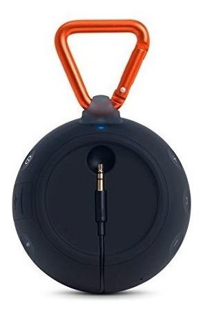 jbl clip 2 altavoz bluetooth portátil impermeable (negro)