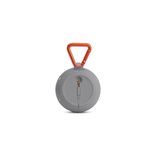 jbl clip 2 impermeable portátil altavoz bluetooth (gris)