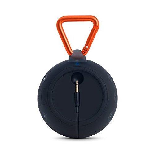 jbl clip 2 impermeable portátil altavoz bluetooth (negro)