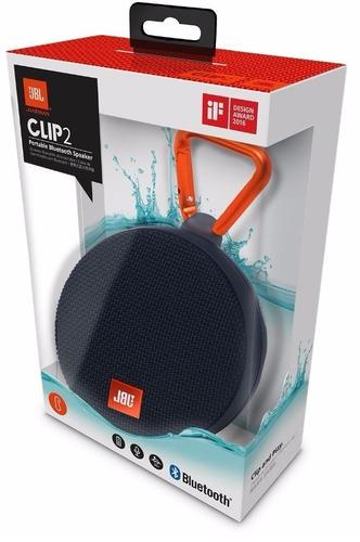 jbl clip2 caixa de som portátil bluetooth preto original
