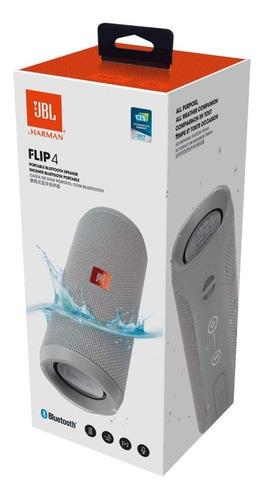 jbl flip 4 gris parlante portátil bluetooth inalámbrico