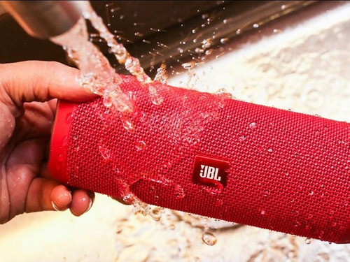 jbl flip 4 parlante bluetooth portatil acuatico bass colores
