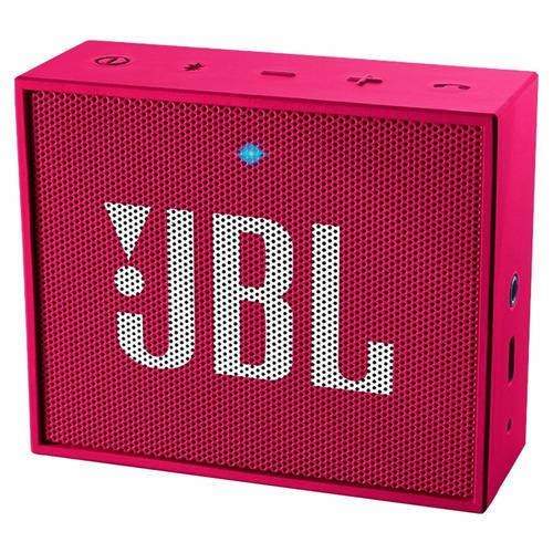 jbl go 3w caixa de som speaker bluetooth original rosa + nf
