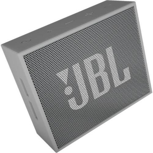 jbl go parlante portátil bluetooth inalámbrico color gris