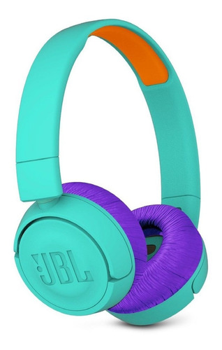 jbl jr300bt auricular bluetooth wireless micrófono turquesa
