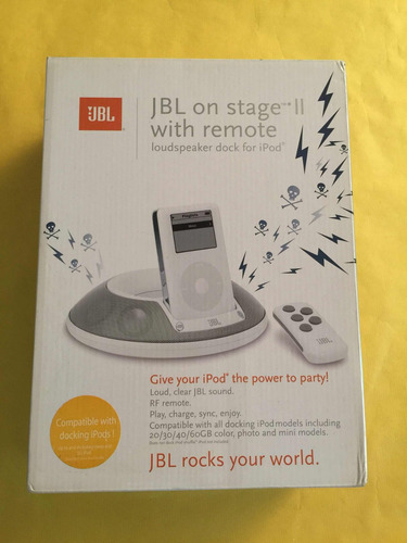 jbl on stage ii with remote, 10