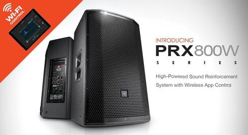 jbl profesional parlante amplificado prx815w / 1500watt wifi