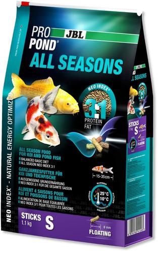 jbl propond all seasons s 5,8 kg ração para carpas lago 3em1