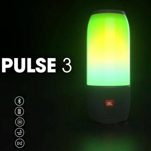 jbl pulse 3 led caixa de som bluetooth cores frete grátis