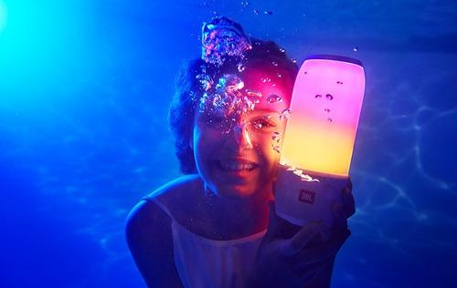 jbl pulse 3 parlante bluetooth 20w luces led acuatico tienda