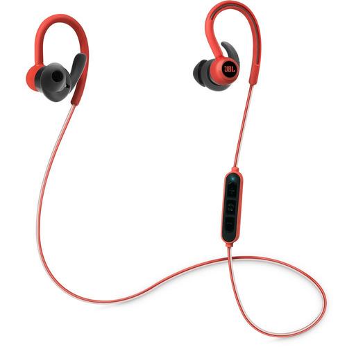 jbl reflect contour auriculares inalámbricos rojo