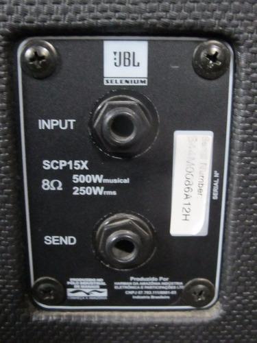 jbl selenium scp-15x caja acústica pasivo 250 w rms oferta