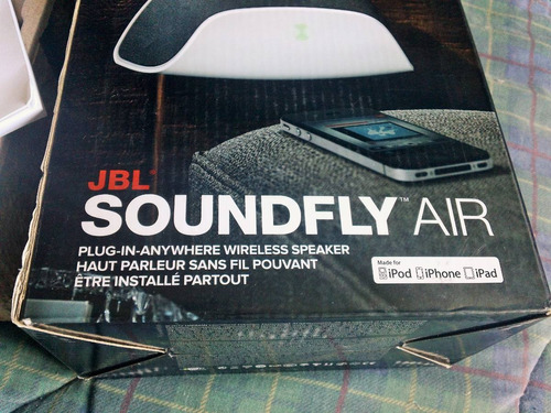jbl soundfly air, para iphone, ipad, ipod, apple tv y itunes