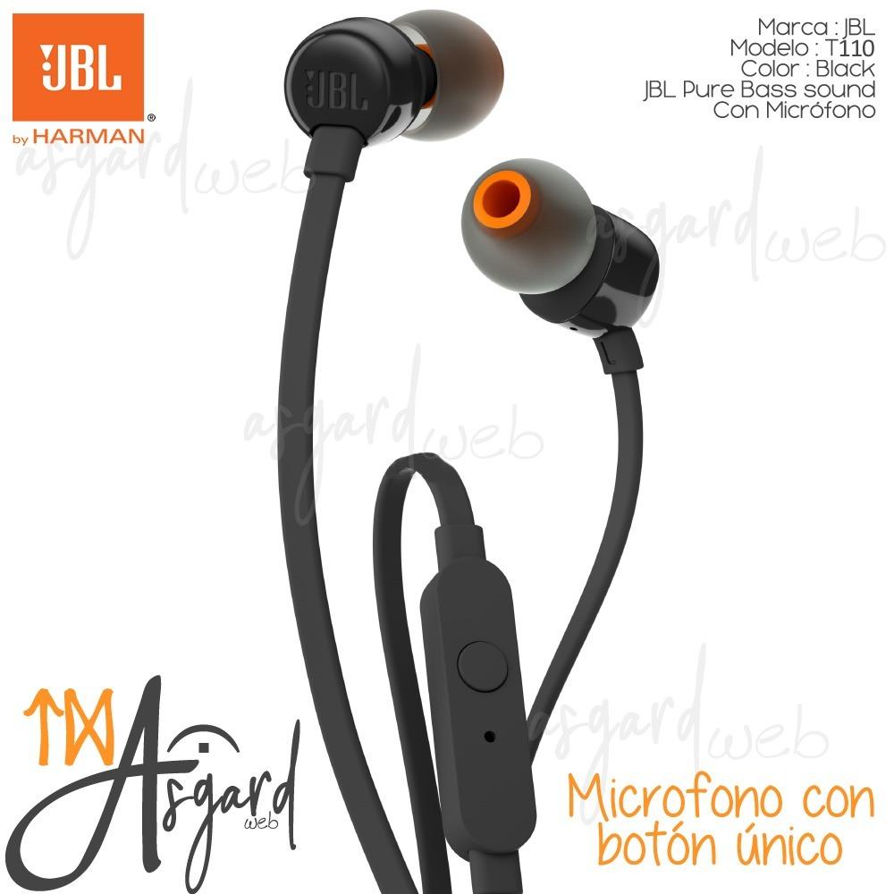 362ab4dea7d jbl t110 auriculares in ear microfono pure bass sound black. Cargando zoom.