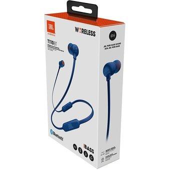 jbl t110bt auriculares bluetooth inalámbrico azul
