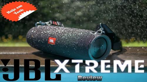 jbl xtreme caixa acústica som garantia 100% original + nf-e