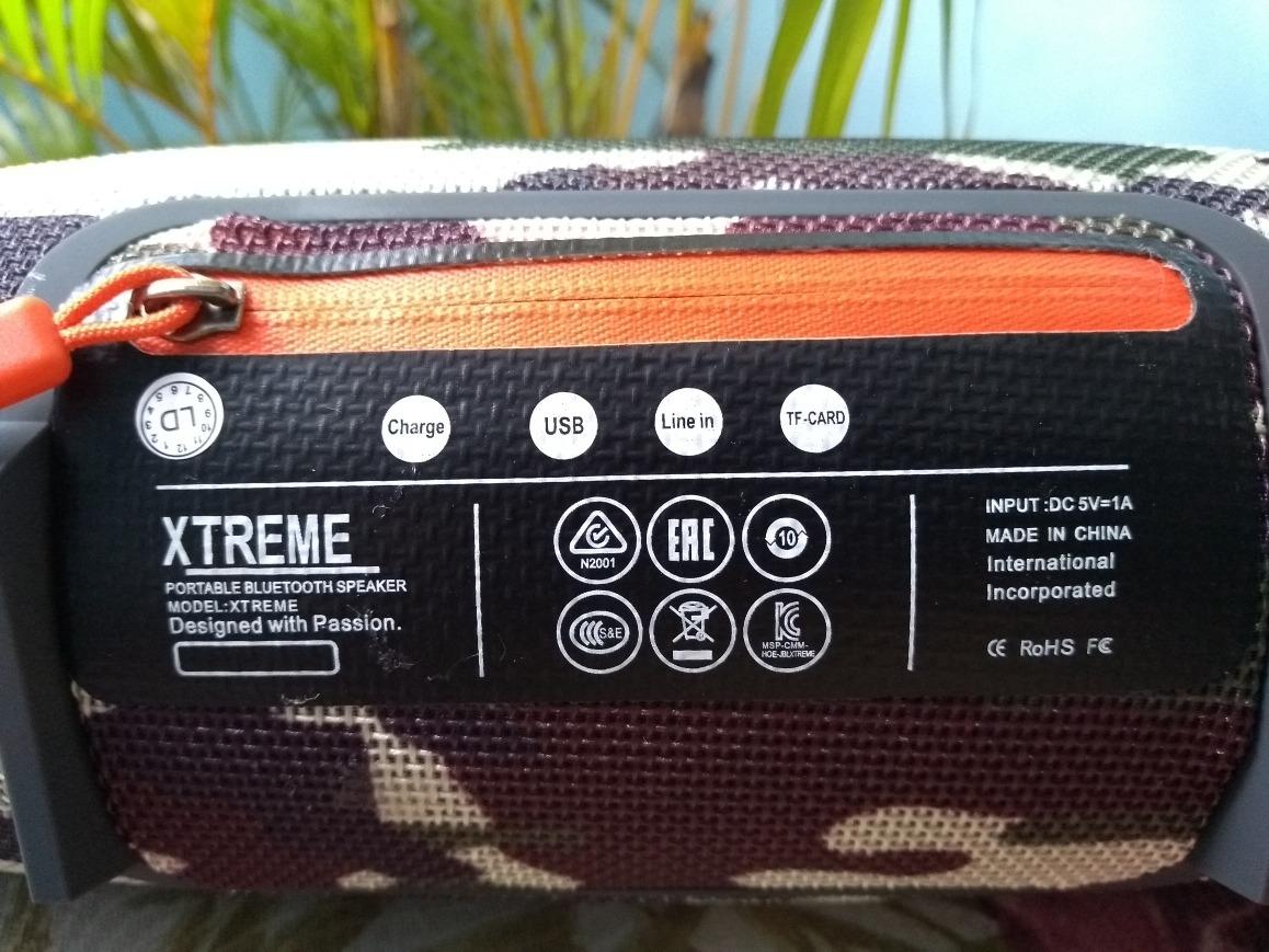 Jbl Xtreme Mini Camuflada Bluetooth Usb 1 Linha Top Garantia