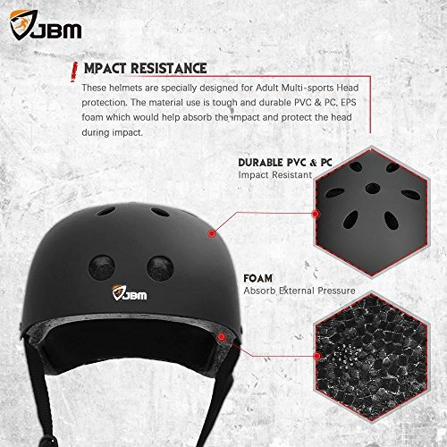 jbm international espuma eps resistencia al impacto y casco