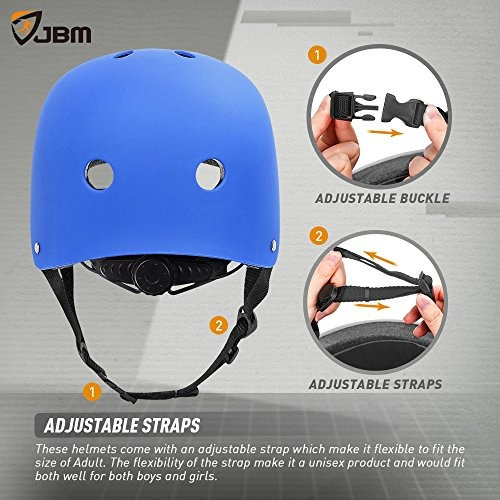 jbm skateboard casco cpsc astm ventilacion de resistencia al