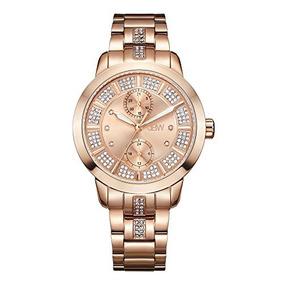 Funciones Reloj Del Múltiples Diamante Jbw Lumen D J6341e De YEDH2beW9I