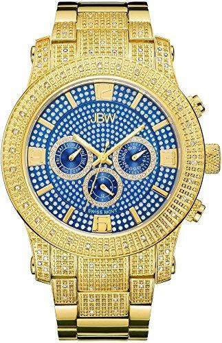 Hombre J6336 Reloj De Diamond Multi Lynx Function Jbw xrBCshtQd