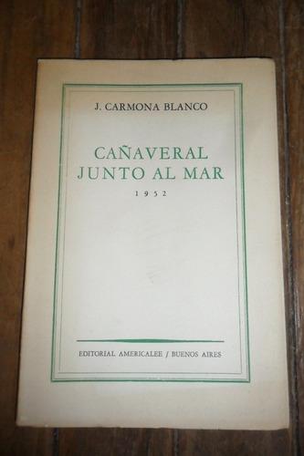 j.carmona blanco . cañaveral junto al mar 1952