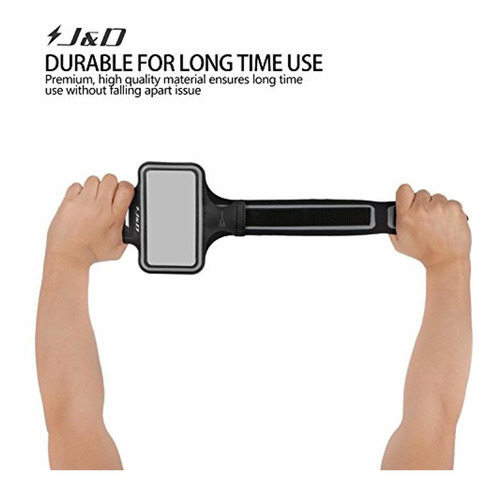 j&d armband compatible for moto g6 play armband,