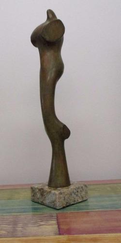 jean arp  mujer v  escultura en bronce