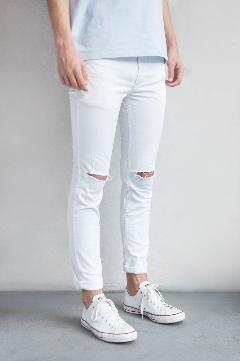blanco roto jean Cargando elastizado zoom freres chupin FUxnwCvwHq d766fbc81203